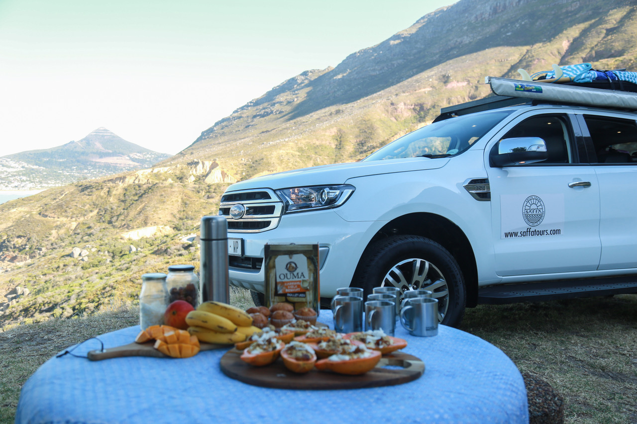 Gourmet Breakfast Picnic private tour saffa tours cape town